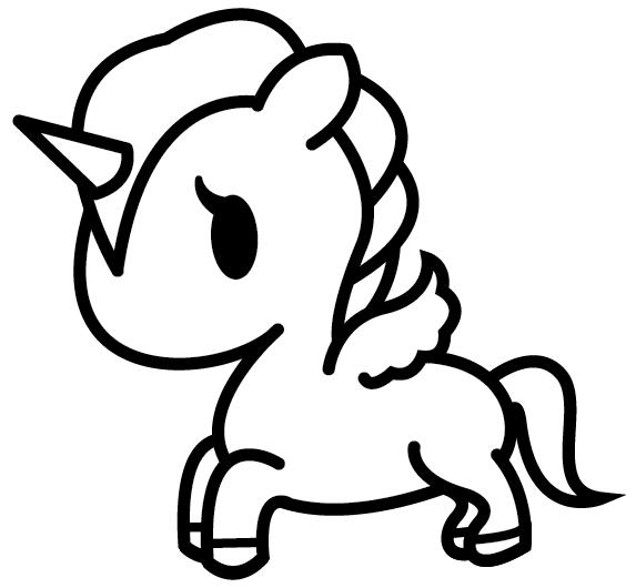 20 Fantastic Ideas Cute Easy Kawaii Step By Step Unicorn Coloring