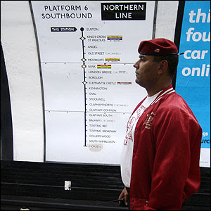 Guardian Angels Back on the London Underground from the BBC site