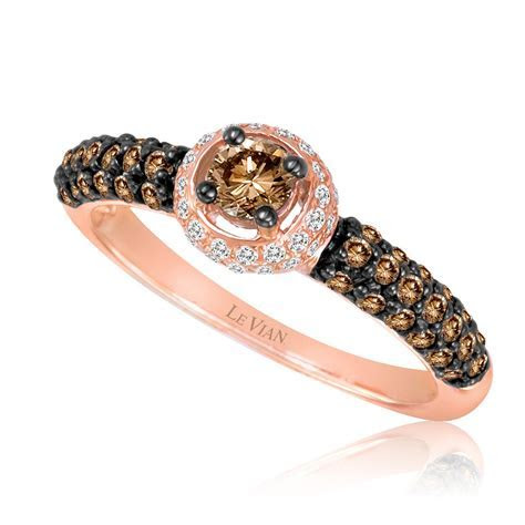 Le Vian 14K Rose Gold Chocolate Diamond Finished Ring