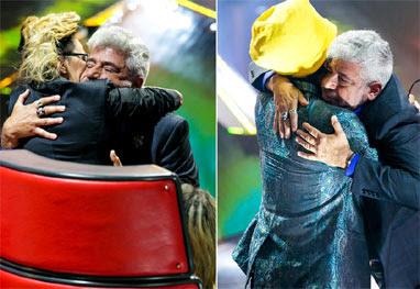 Lulu Santos vai às lágrimas durante apresentação no The Voice Brasil - Fabiano Battaglin/TV Globo