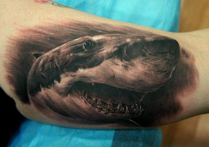 18 Shark Tattoos That Represents Strength And Primal Power Tattoos Win