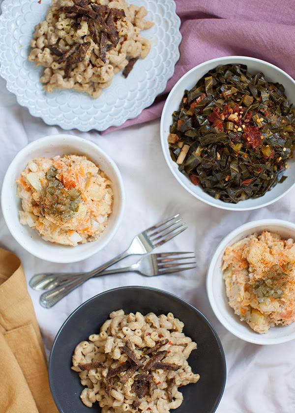 Sweet Potato Salad Vegan Soul Food Cookbook Video