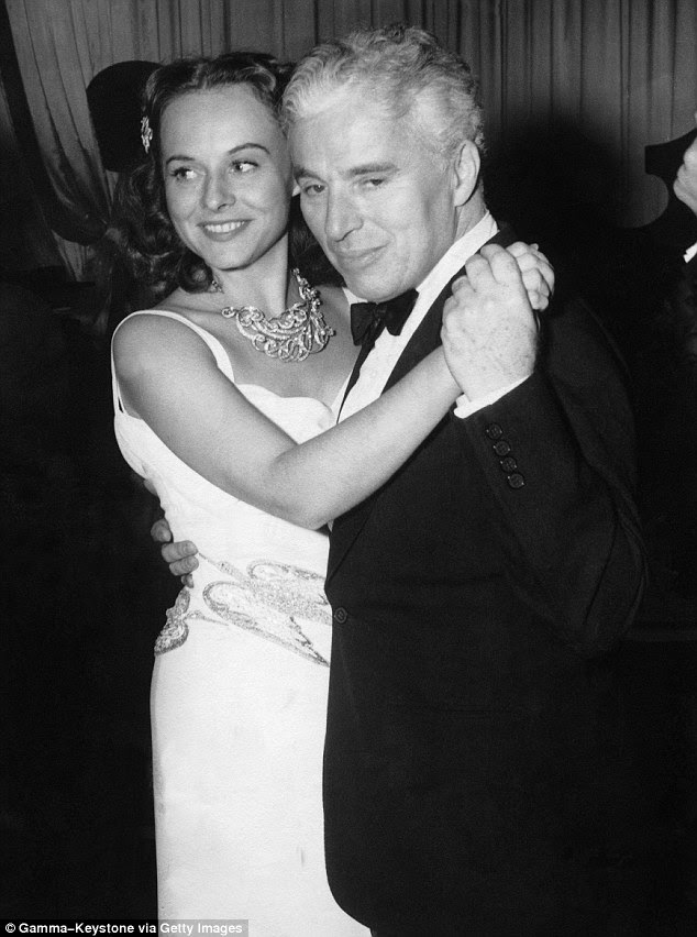 Paulette Goddard left Chaplin soon after the premiere of The Great Dictator in October 1940 (the couple are pictured here at a gala for the film)