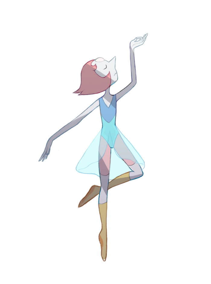 I drew my favorite salty alien lesbian ballerina in an alternate costume, because why not?
