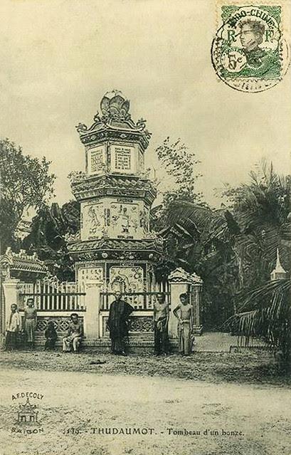 THUDAUMOT - Tombeau d 'un Bonze 1911