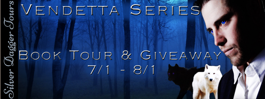 Book Tour Banner for paranormal romance The Vendetta Series by Desiree L Scott with a Book Tour Giveaway