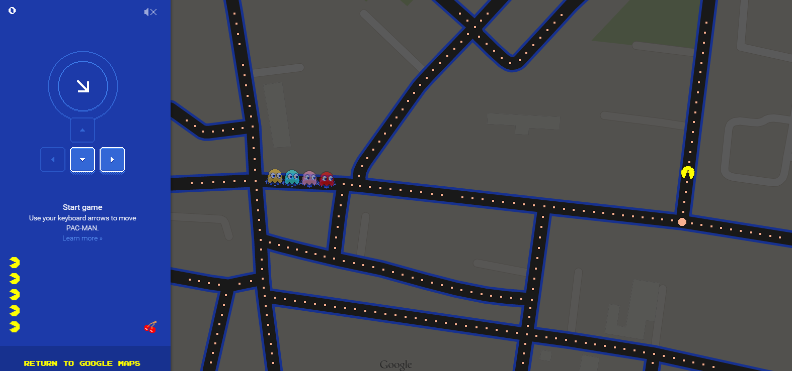 GoogleMapsPacMan Roundup: All of Google's jokes for April Fools' Day 2015