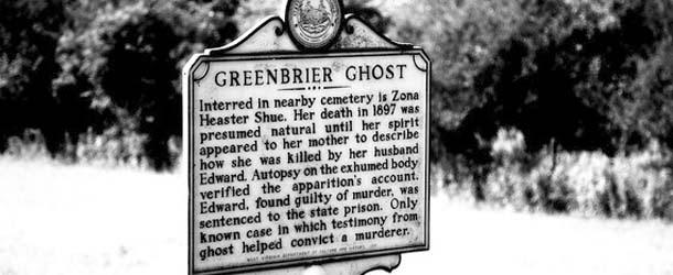 El caso Greenbrier, el fantasma que ayudó a resolver su propio crimen