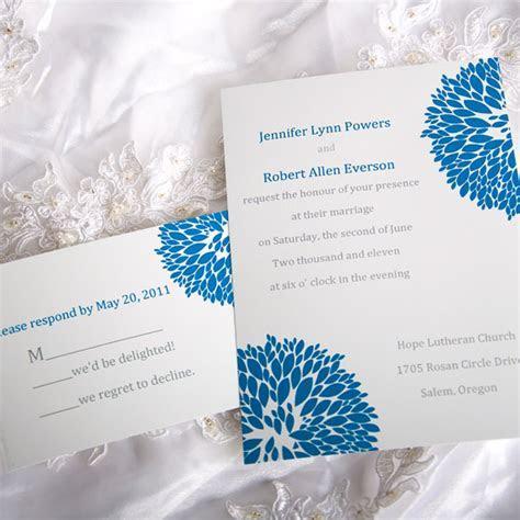 Blue Hydrangea Wedding invitations ? Elegantweddinginvites