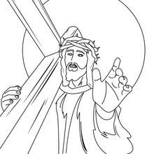 Dibujos Para Colorear Jesús Coronado De Espinas Eshellokidscom
