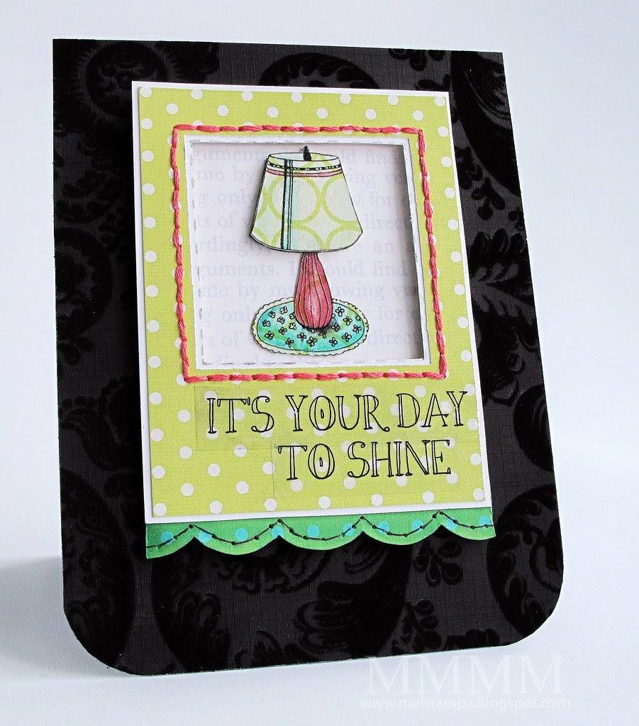 Tiffany Doodles Lamp Freebie