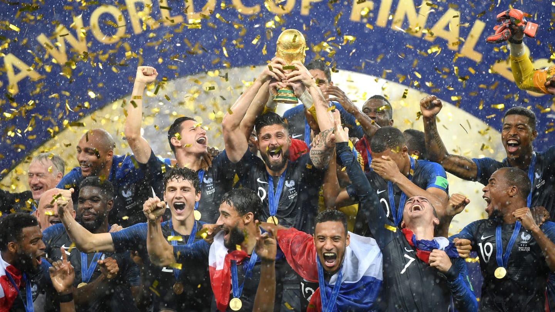 La France Remporte La Coupe Du Monde 2018 En Russie
