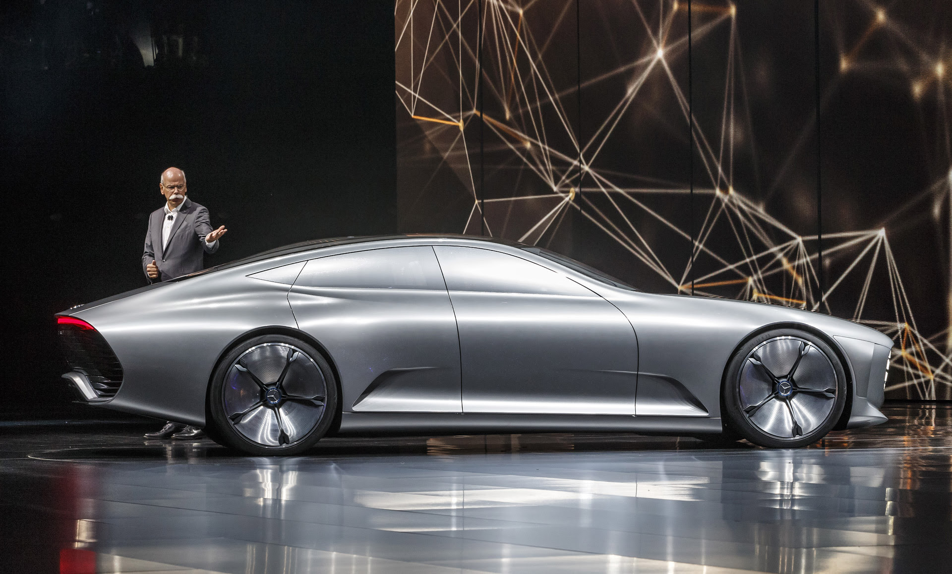 Mercedes-Benz Intelligent Aerodynamic Automobile concept ...