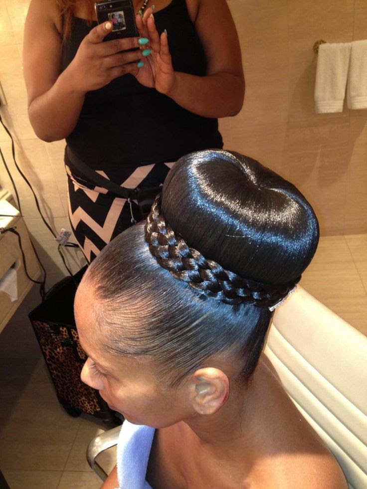 The best black Updo hairstyles