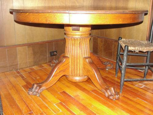 Claw Foot Table Ebay