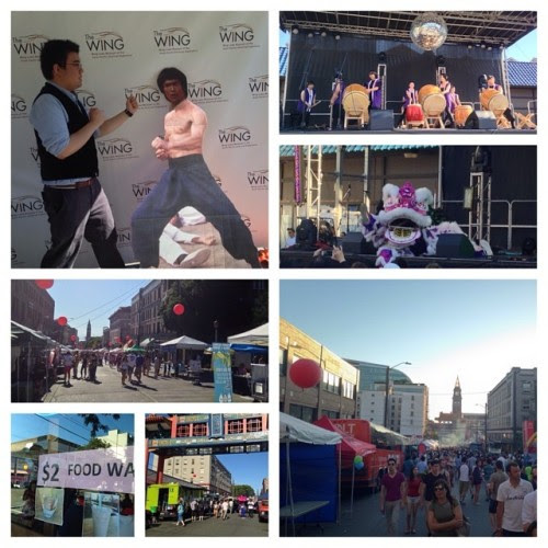 Day 22: Enjoyed my day at Seattle Chinatown's Dragonfest. #93daysofsummer #summer2014 #dragonfest #seattle