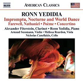 Yedidia: Impromptu, Nocturne and World Dance