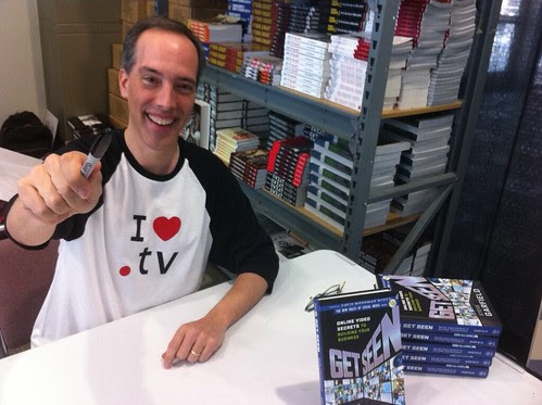 SXSW Get Seen Book Signing: I Love Dot TV!