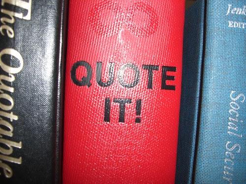 """Quote It!"""