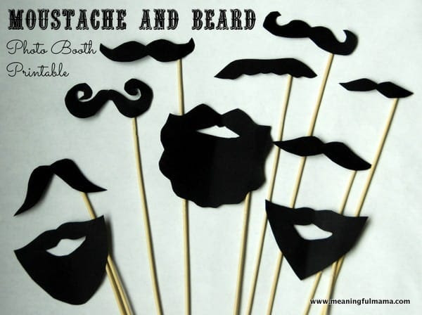 1-#moustache #photo booth #printable-001