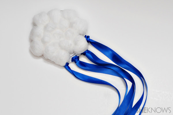 Cloud ribbon dancer craft