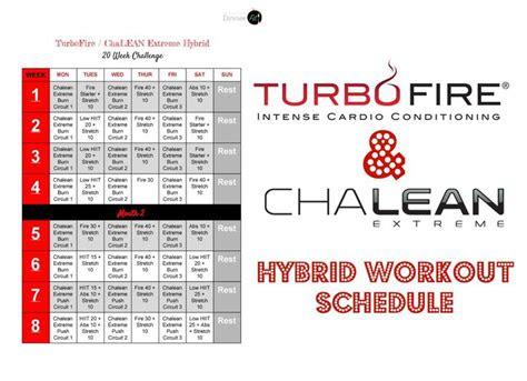 check    turbofire chalean extreme hybrid