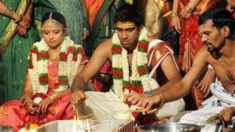 Photos, Video of R Ashwin?s Marriage to Wife Preethi
