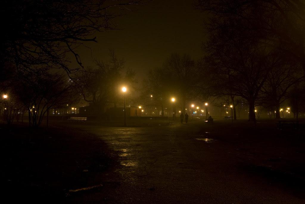 Saturday night's fog