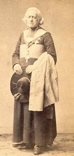 Photograph of St. Charles Joseph Eugene de Mazenod.