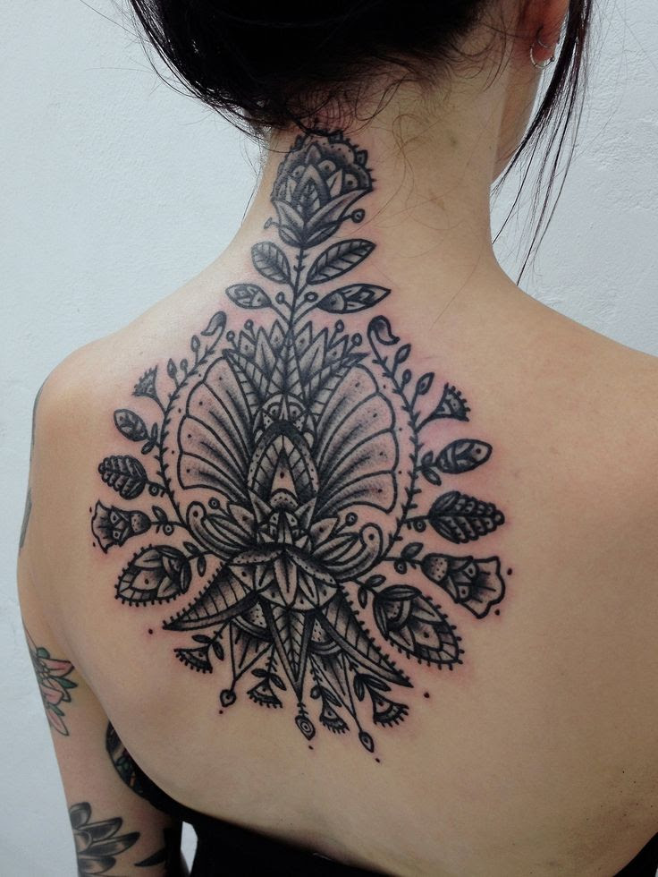 45 Back Of The Neck Tattoo Designs Meanings Way To The Mind2019