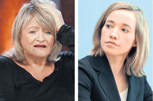 Gegensätzliche Positionen: Feminismus-Ikone Alice Schwarzer schiesst scharf gegen die Äusserungen von Familienministerin Kristina Schröder (CDU).