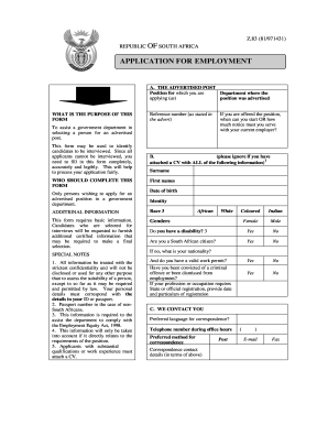 Example Of Filled Z83 Form Fill Online Printable