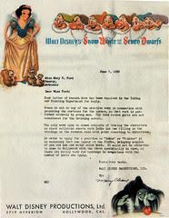 Flickr: Disney Rejection Letter, 1938