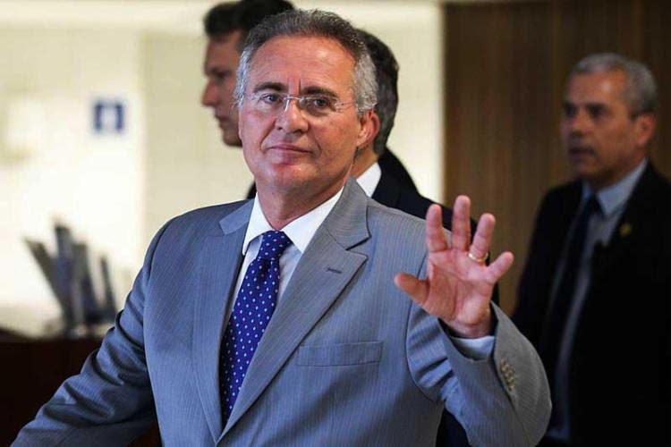 Renan já está listando nomes para substituir Michel Temer na Presidência - Foto: Fabio Rodrigues Pozzebom   Agência Brasil