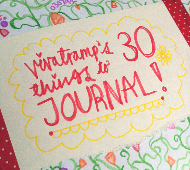 1 lifestyle blog vivatramp uk journal prompts list listography