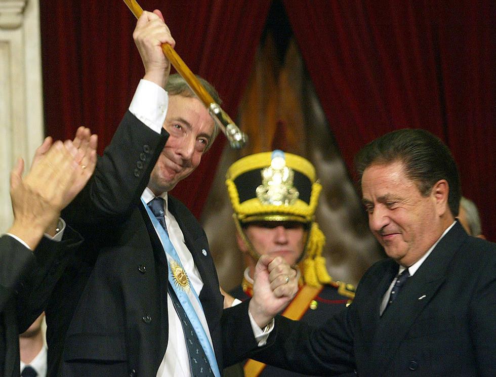 Néstor Kirchner, en imágenes  - El día de la investidura