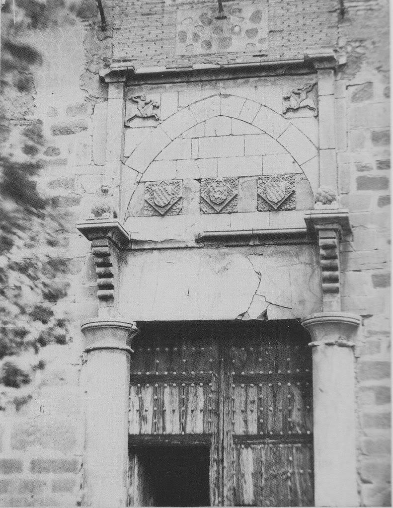 Palacio de Fuensalida a finales del siglo XIX. Fotografía de Casiano Alguacil