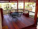 Covered Porch with Benches and Planters - Accessories Photo ...