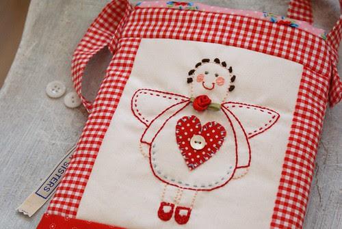 red angel bag