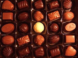 A Swedish box of chocolates called