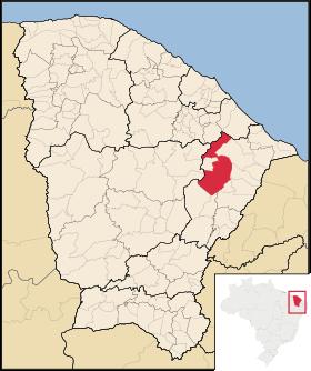 Localização de Morada Nova