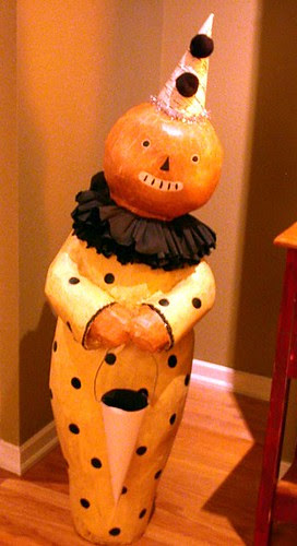 Mr Pumpkin Head