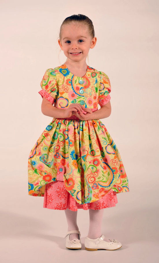 10  cute  inspiring easter dresses 2013 for little girls