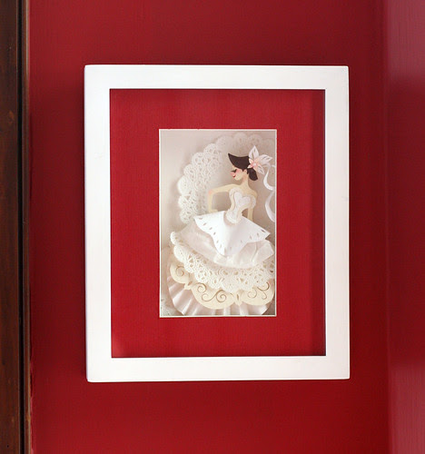 Papercut bride by Brittney Lee