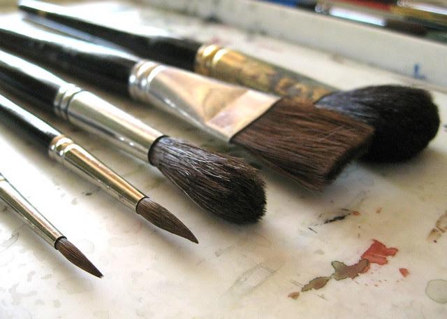 brushes V
