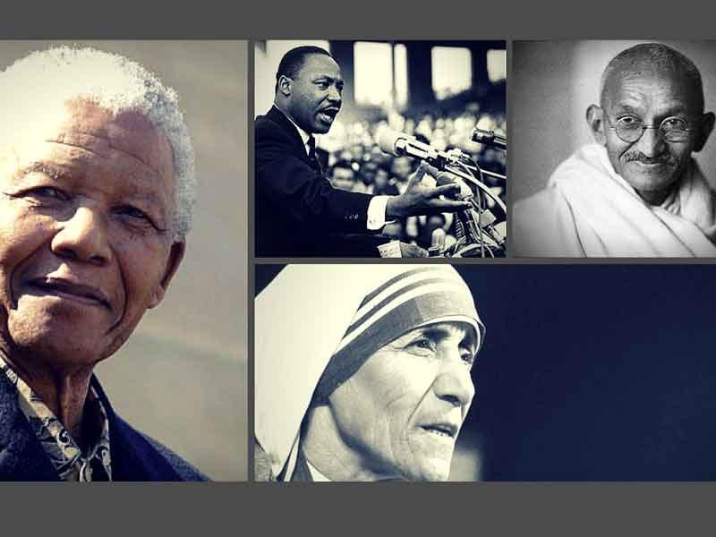 25 Frases De Grandes Lideres Mandela Gandhi Teresa De Calcuta Y