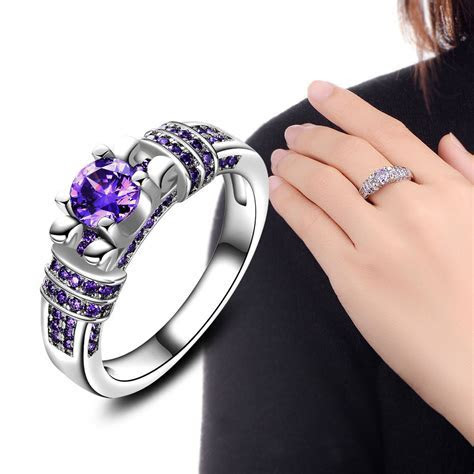 2017 Fashion Jewelry Ring For Women Engagement Wedding