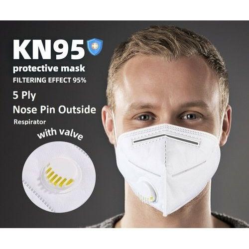 Masque facial à valve respirateur masque réutilisable KN95 FFP2 protecteur