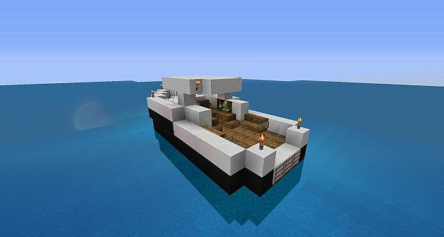 , how to build fishing boat minecraft, make your own wooden boat