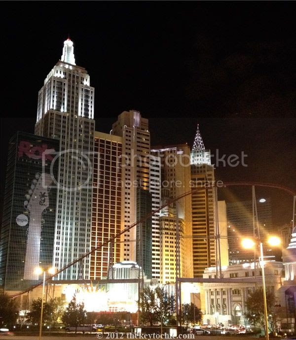 New York, New York hotel Las Vegas